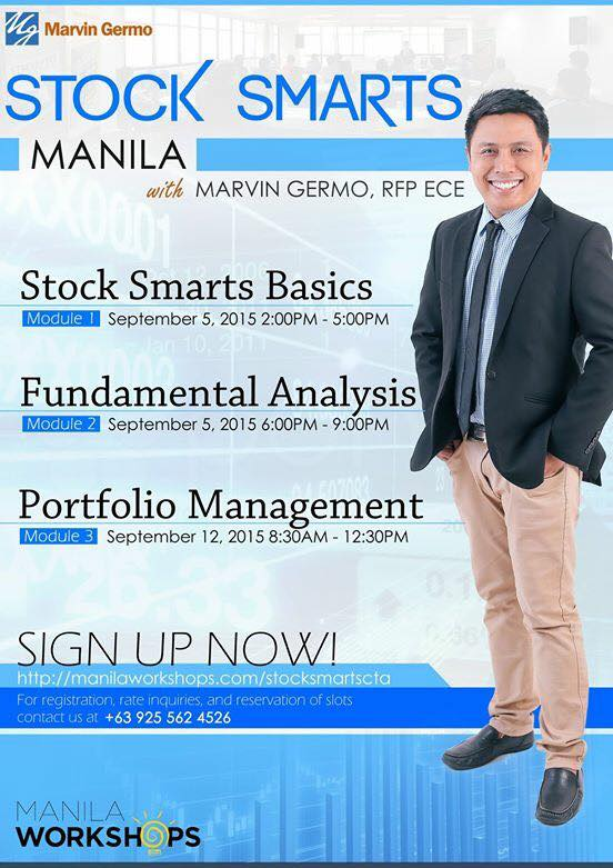 Stock Smarts September 2015 workshops
