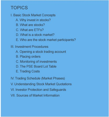 Stock Market 101 by PSE Academy