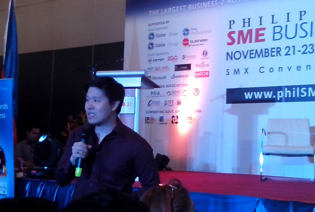 Shawn Sy: START-UP TALK: TURNING IDEAS INTO A MULTI-MILLION BUSINESS