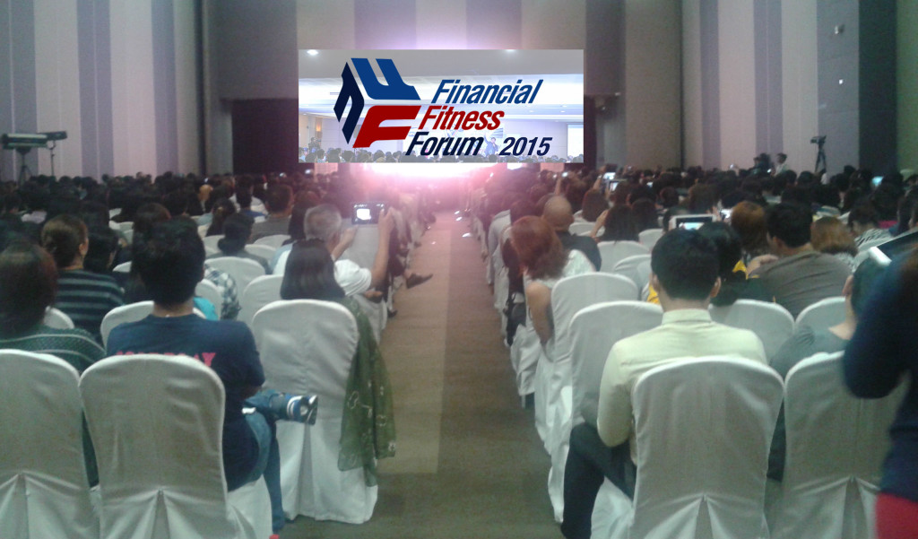 Financial Fitness Forum 2015 at SMX Aura