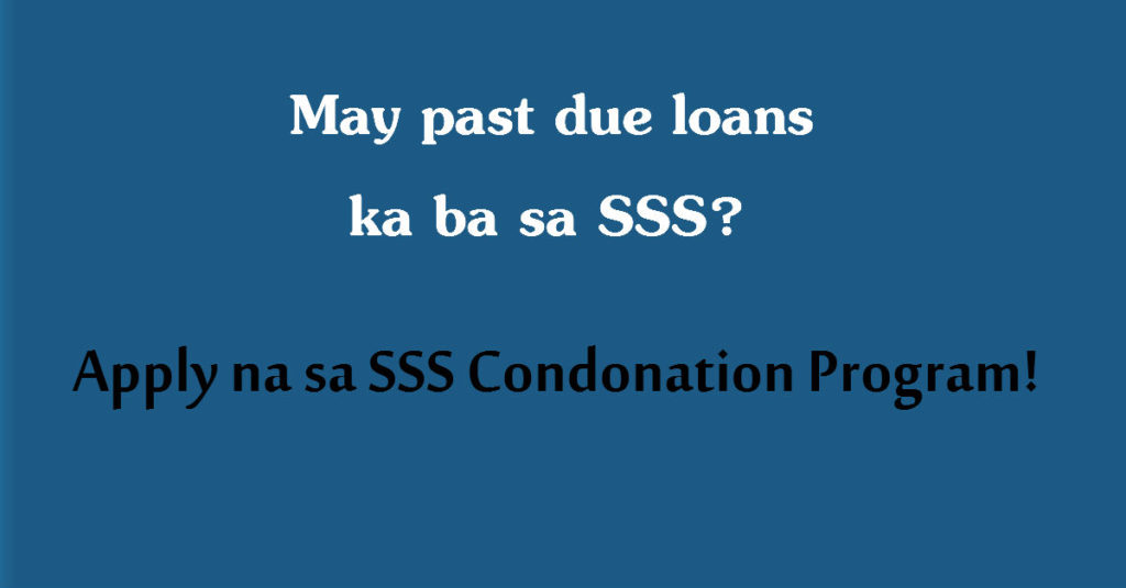 SSS Condonation FB Ad