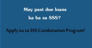 SSS Condonation FB Ad