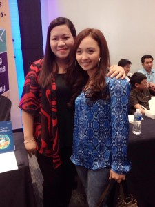 With-Vanessa Bayaton Obispo-of-Moneysense magazine