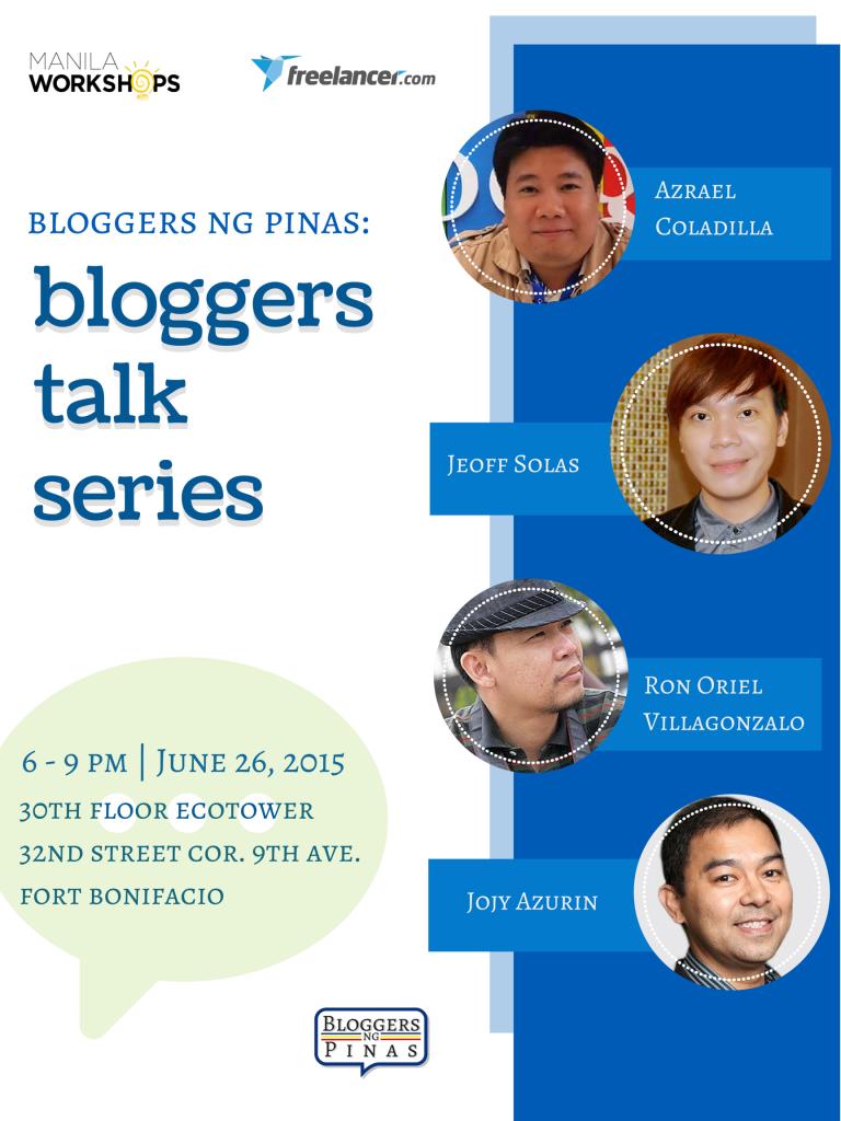 Bloggers-Talk-Series
