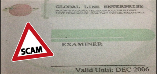 Global Line Enterprise ID Scam 2
