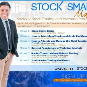 Stock Smarts Workshops 2016: How to Invest in the Philippine Stock Market
